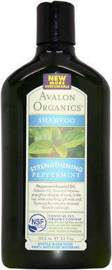 Avalon Organics Strengthening Peppermint Shampoo 324.5 ml Hair Care