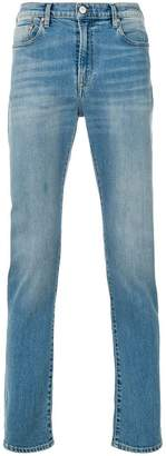 Paul Smith high rise straight stonewashed jeans