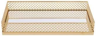 Villari Firenze Gold-Plated Small Tray