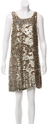 Diane von Furstenberg Carolina Sleeveless Mini Dress
