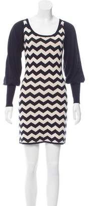 Alice by Temperley Patterned Knit Dress $75 thestylecure.com