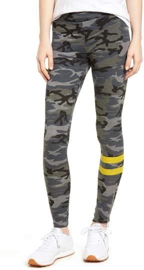 Stripe Camo Yoga Pants