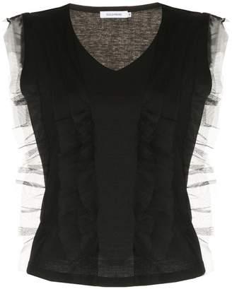 GUILD PRIME frill-trim sleeveless top