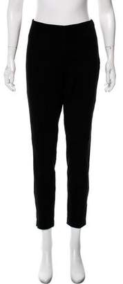 MICHAEL Michael Kors Leather Skinny Leg Pants