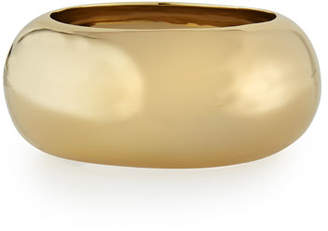 Alexis Bittar Large Liquid Golden Bangle