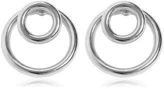 Alexander Wang Large Double O-Ring Earrings
