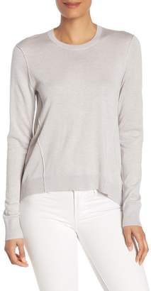 ATM Anthony Thomas Melillo Forward Seam Silk Blend Sweater