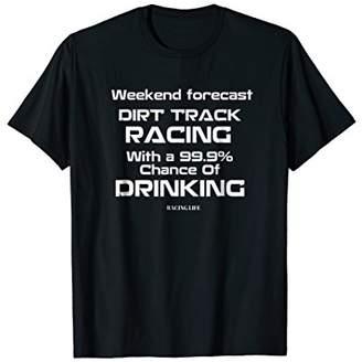 Sprint Car Racing Shirt Funny Dirt Track Racing Race T-shirt