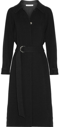 Elizabeth and James - Kelly Pleated Cady Coat - Black $795 thestylecure.com