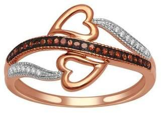 1/10ct TDW Diamond Fashion Ring in 10K Rose Gold
