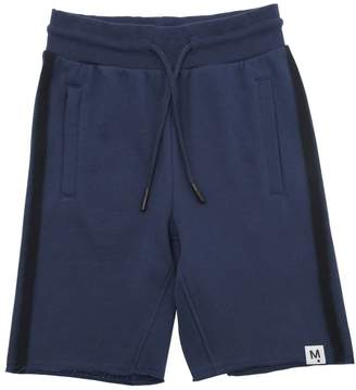 Molo Cotton Sweat Shorts W/ Side Bands
