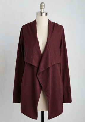 Sweet Rain Chill You Be Mine? Cardigan in Burgundy $49.99 thestylecure.com