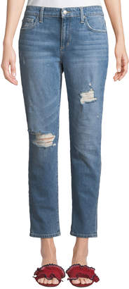 Joe's Jeans Distressed Cropped Boyfriend Jeans