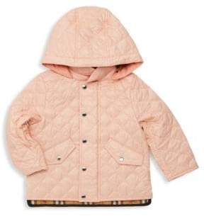 Burberry Baby Girl's& Little Girl's Ilana Quilted Coat