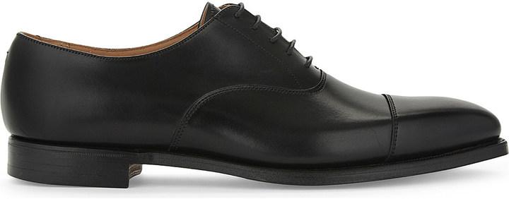 Crockett JonesCrockett & Jones Hallam leather Oxford shoes