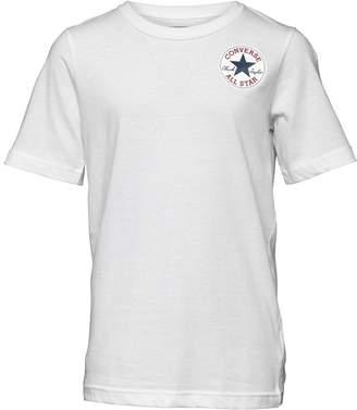 Converse Boys CTP Left Chest T-Shirt White