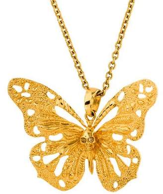 Alexander McQueen Butterfly Pendant