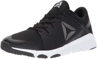 Reebok Men's Trainflex Cross Trainers, Black/White/Pewter