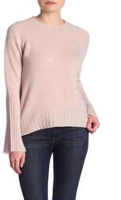 360 Cashmere Maikee Hi-Lo Cashmere Knit Sweater