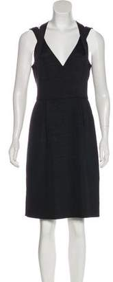 Trina Turk Linen-Blend Sleeveless Dress