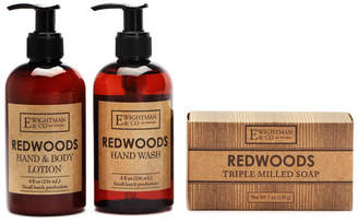 elizabeth W Elizabethw Redwoods Hand Wash, Body Lotion & Bar Soap Set