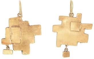 Judy Geib Women's Geometric Drop Earrings