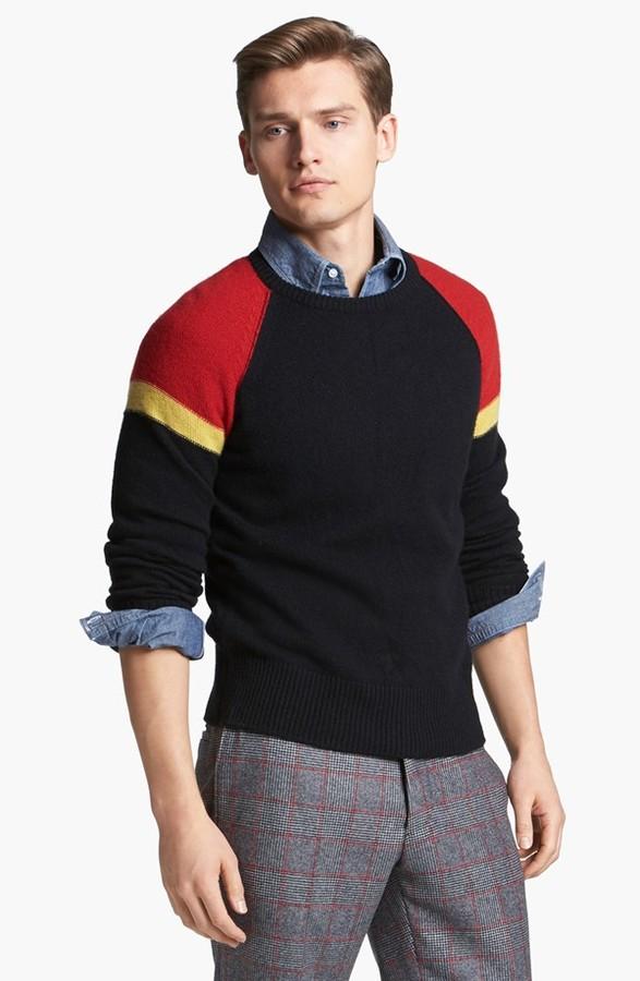 Michael Bastian Cashmere Crewneck Sweater