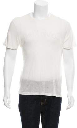 Calvin Klein Collection Short Sleeve Graphic T-Shirt