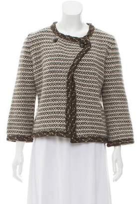 Chanel Cashmere-Blend Knit Cardigan