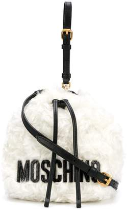 Moschino wool bucket bag
