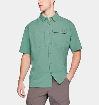 Under Armour Men's UA Fish Hunter Solid Short Sleeve