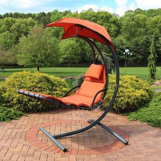 Freeport Park Shelbi Hanging Chaise Lounger with Stand