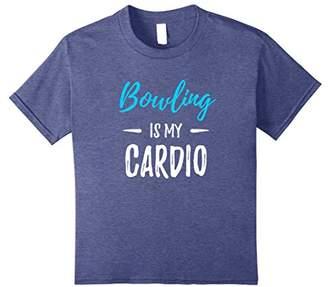 Bowling Is My Cardio T-Shirt Funny Bowler Gift Shirt