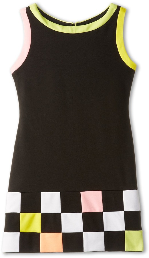 Biscotti Modern Angle Ponte Dress (Big Kids)