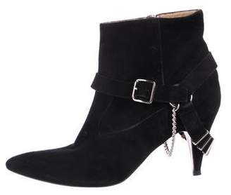 IRO Pointed-Toe Suede Ankle Boots