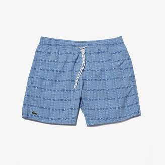 Lacoste Men's Long Swim Trunks