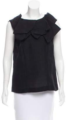 Marni Oversize Sleeveless Top