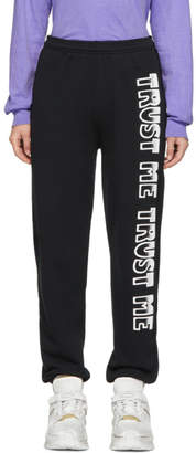 Ashley Williams Black Trust Me Lounge Pants