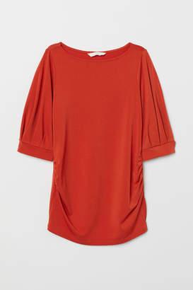 H&M MAMA Jersey top - Orange
