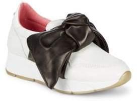 Blumarine Slip-On Bow Sneakers