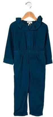 Hello Simone Long Sleeve Corded Jumpsuit