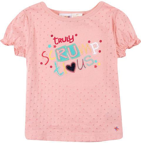 Babies 'R' Us Heidi Klum Truly Scrumptious Girls' Ruffle Sleeve Tee - Pink (Toddler)