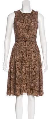 Michael Kors Knee-Length A-Line Dress brown Knee-Length A-Line Dress