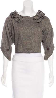 Robert Rodriguez Cropped Evening Jacket