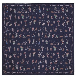 Alexander McQueenAlexander McQueen 'Circus Tricks' silk chiffon scarf
