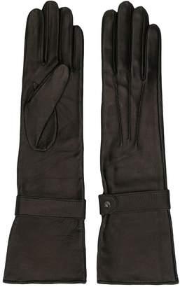 Manokhi long leather gloves