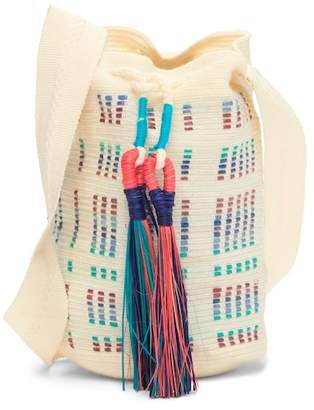 Lulu Sophie Anderson Tassel Bucket Bag