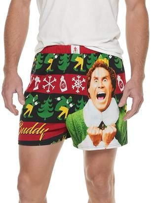 Men's Buddy the Elf Fairisle Boxer Briefs
