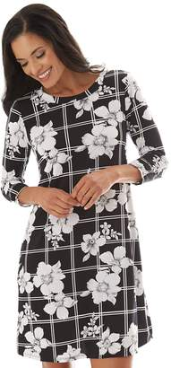 5fdc9a6e0e Apt. 9 Women s Printed Swing Dress