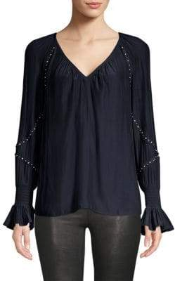 Ramy Brook Willa Studded Blouse